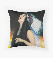 Live Fast. Die Young. Be Wild. And Have Fun. Throw Pillow