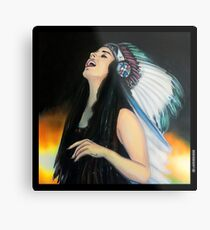 Live Fast. Die Young. Be Wild. And Have Fun. Metal Print