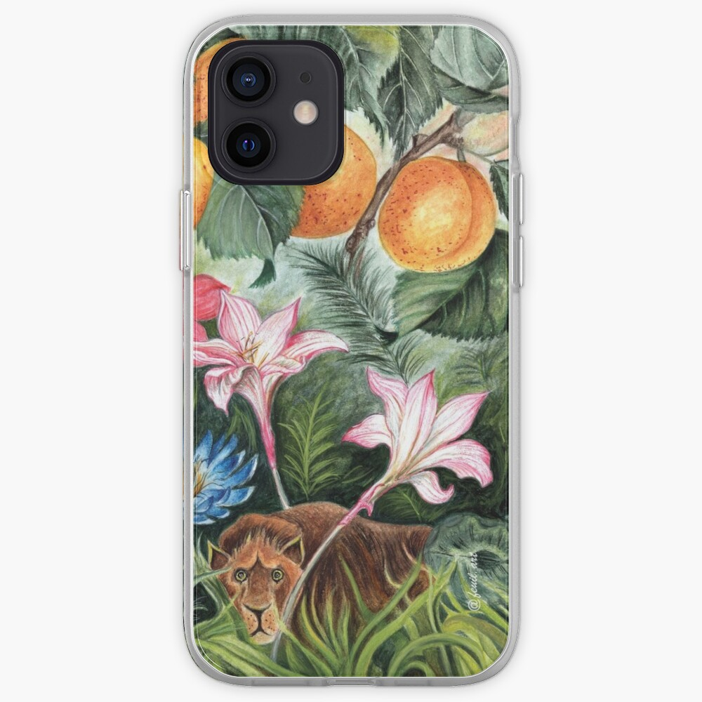 Coque iPhone «AMBIANCE TROPICALE»