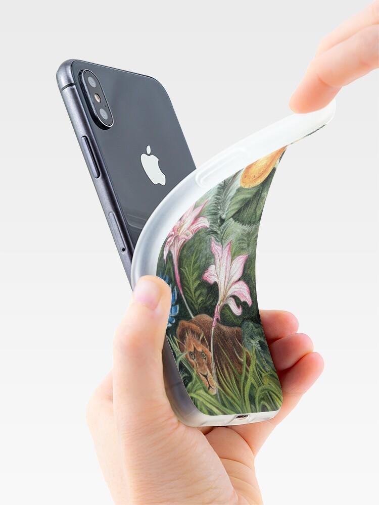 Coque iPhone ''AMBIANCE TROPICALE': autre vue