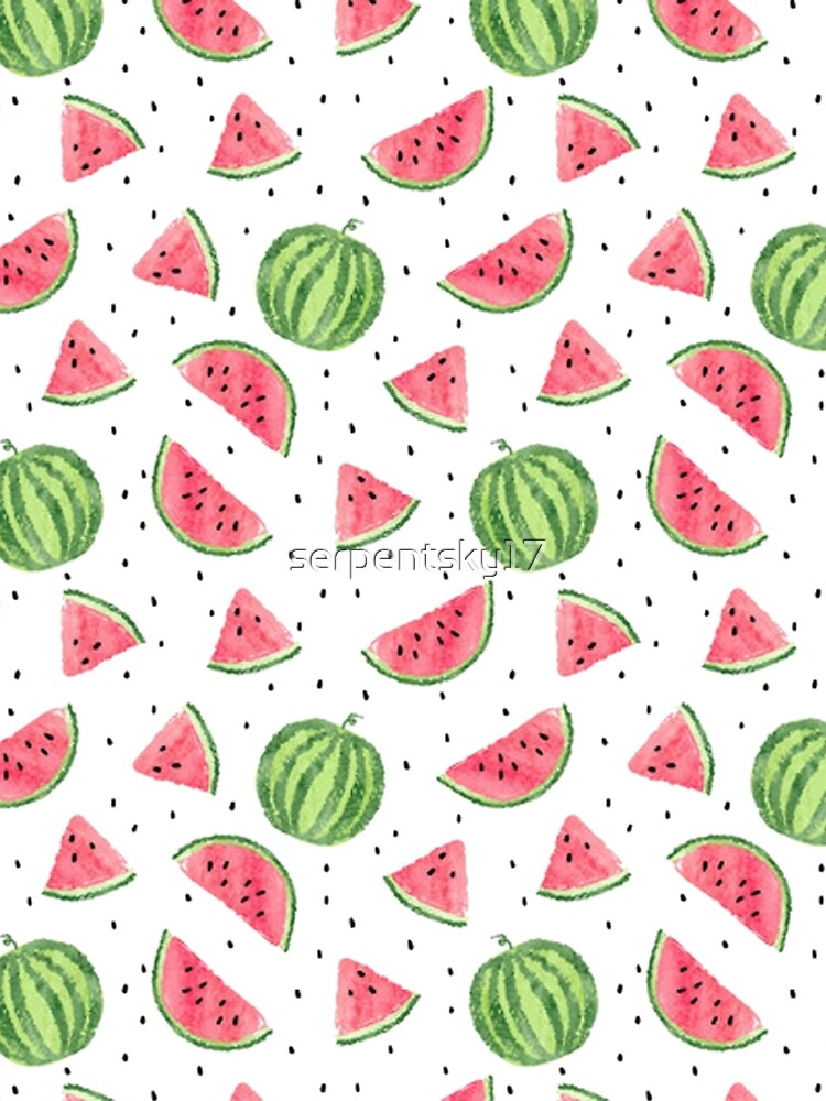 All-Over Watermelon Print by serpentsky17