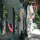 Main Street Patriotism  by OntheroadImage