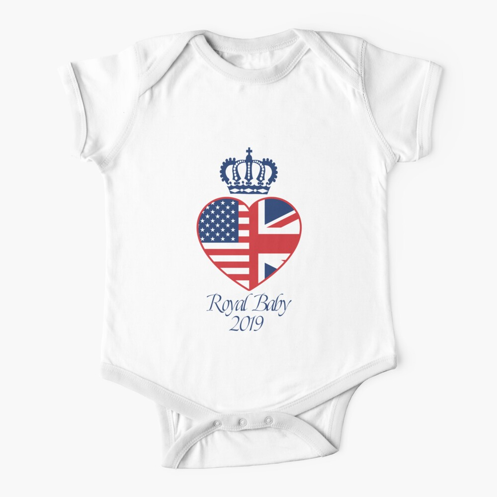 New Royal Baby 2019 Prince Harry and Meghan Markle Duke and Duchess of Sussex Baby One-Piece