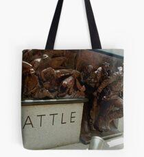 Battle Of Britain Memorial, Embankment, London Tote Bag