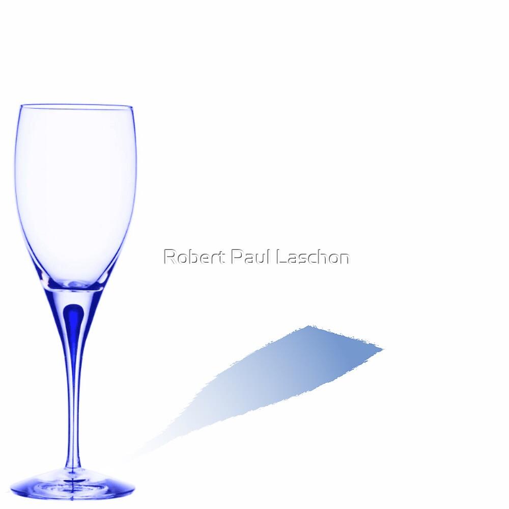 Blue glass by Laschon Robert Paul