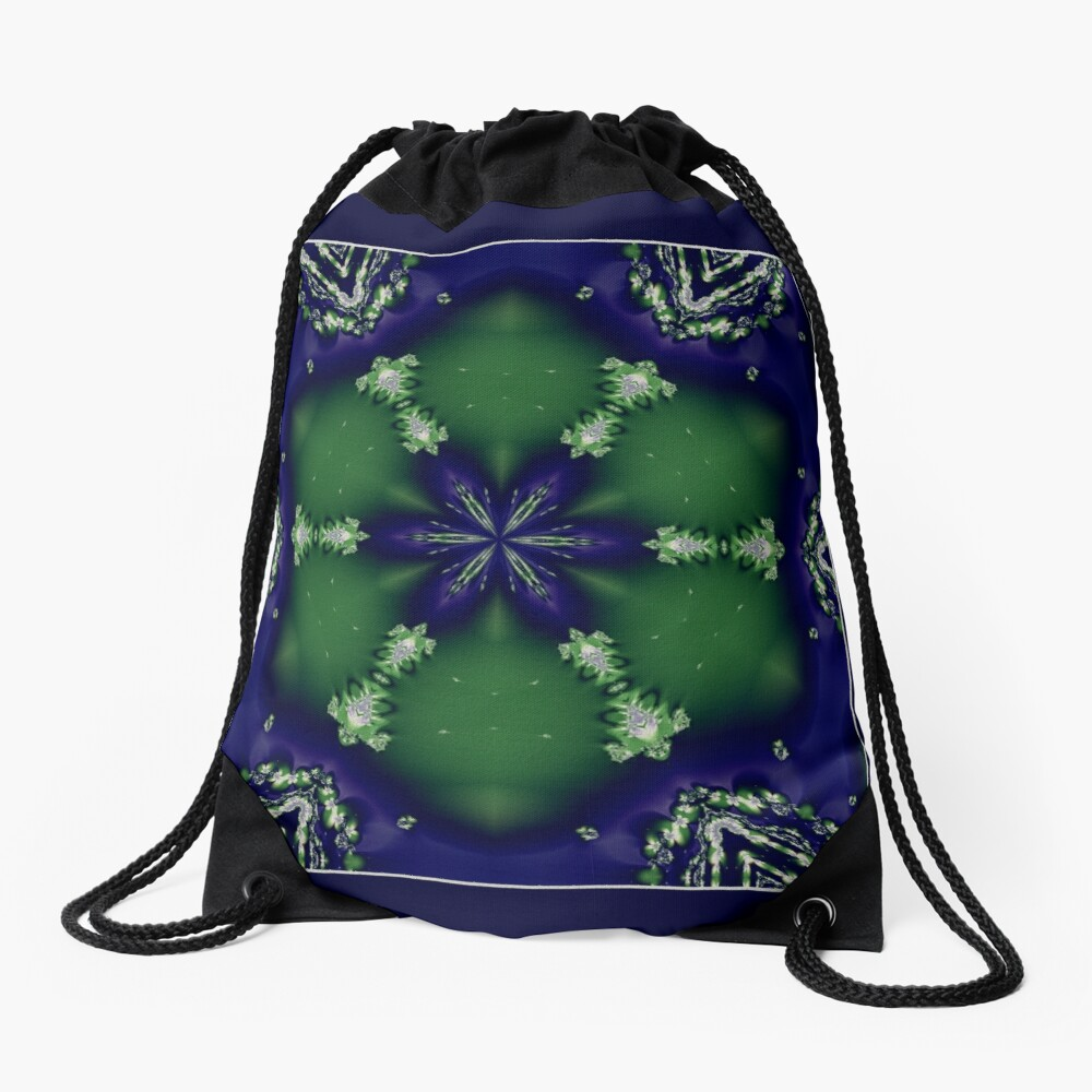 The Snowflake Shawl Drawstring Bag