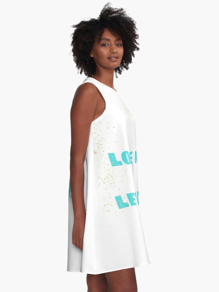 Alternate view of Love Me & Let Me Go A-Line Dress