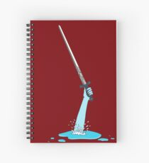 Excalibur and the Lady of the Puddle Spiral Notebook