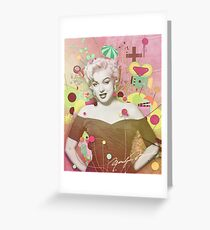 Marilyn Rendition Greeting Card