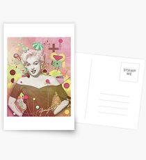 Marilyn Rendition Postcards