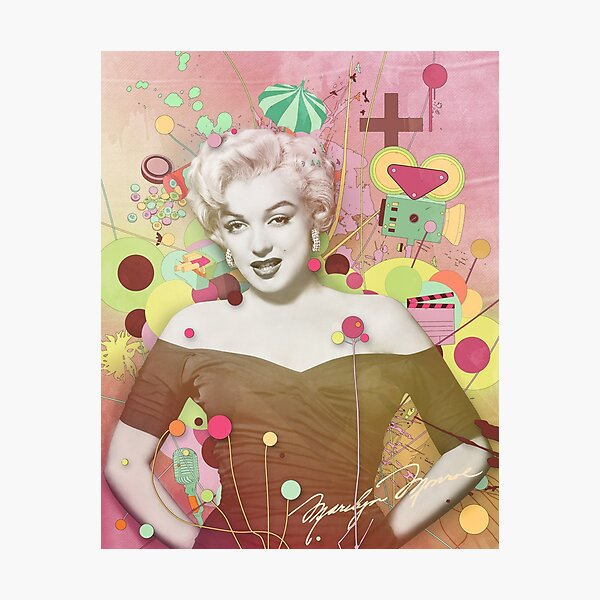 Marilyn Rendition Photographic Print