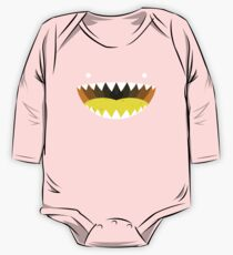 Mouth Tee Yellow One Piece - Long Sleeve