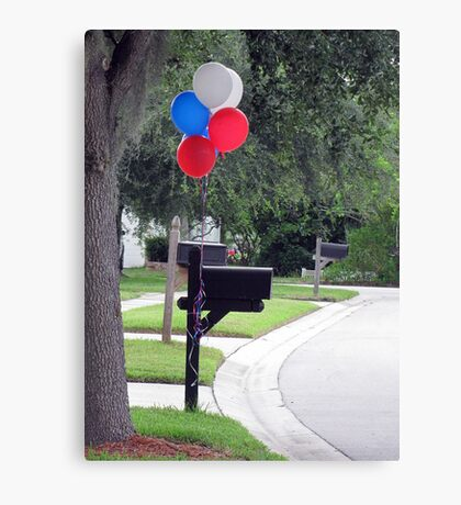 Happy 4th of July! Canvas Print
