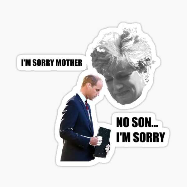 Diana - Disappointed Mother Sticker