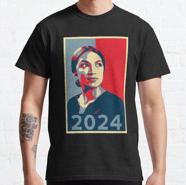 AOC for President 2024 Alexandria Ocasio-Cortez tshirt HOPE Classic T-Shirt