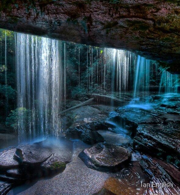 Sparkling Falls by Ian English