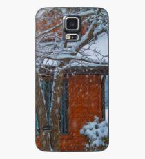 Snowing. Hülle & Klebefolie für Samsung Galaxy