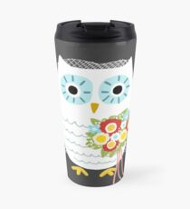 Owl Bride Travel Mug