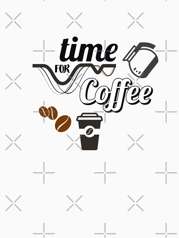 Morning Coffee Time V2 Unisex T-shirt by richdesire