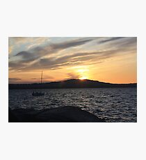 Sunset  Photographic Print