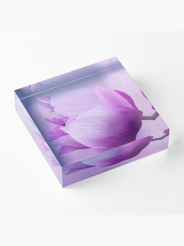 Alternate view of Anemone Acrylic Block