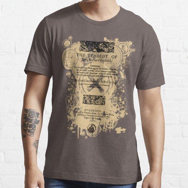 Shakespeare Richard III Quarto Front Piece Essential T-Shirt