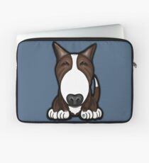 Brown Patch English Bull Terrier Laptop Sleeve