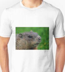 Woodchuck Profile Unisex T-Shirt