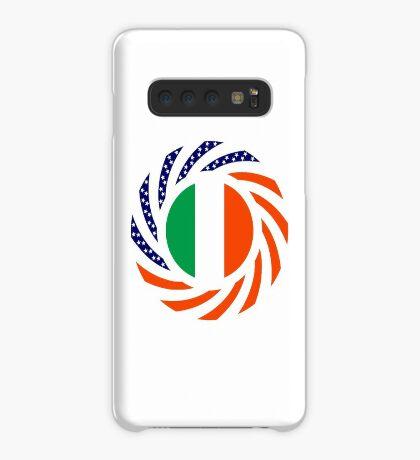 Irish American Multinational Patriot Flag Series Case/Skin for Samsung Galaxy