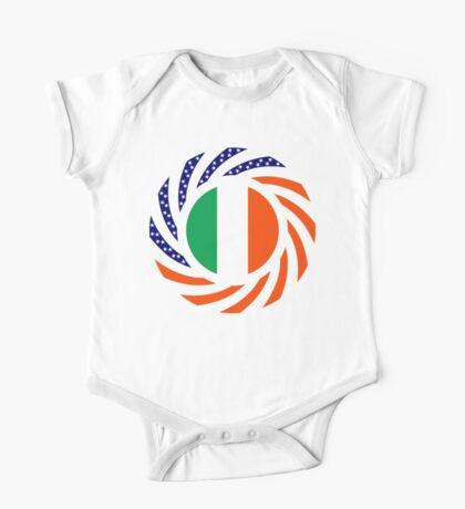 Irish American Multinational Patriot Flag Series Kids Clothes