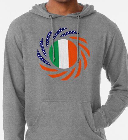 Irish American Multinational Patriot Flag Series Lightweight Hoodie