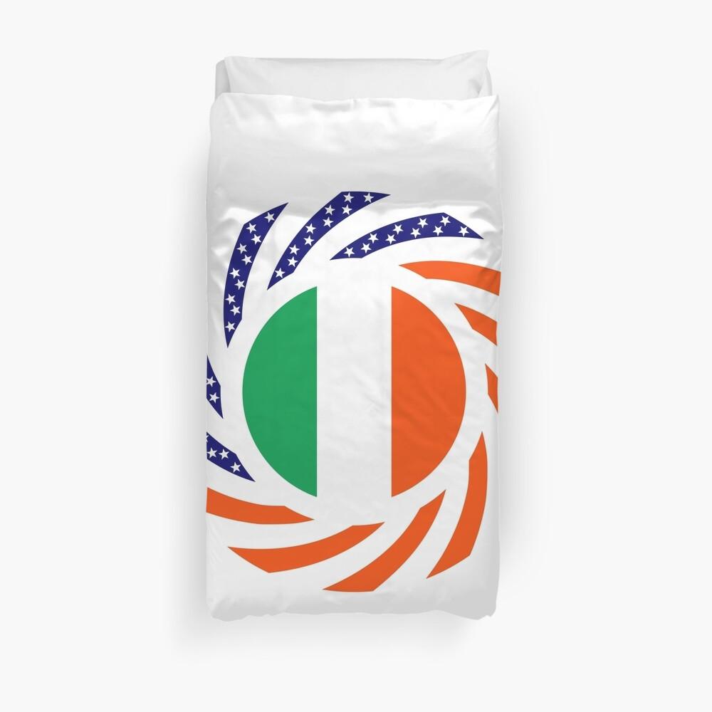 Irish American Multinational Patriot Flag Series Duvet Cover