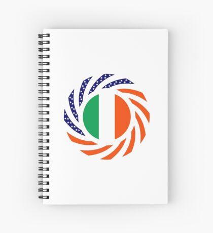 Irish American Multinational Patriot Flag Series Spiral Notebook
