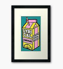 Lyrical Lemonade Wall Art | Redbubble