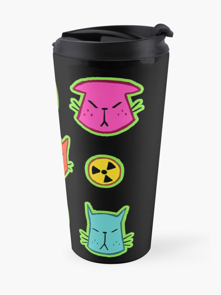 Alternate view of NUCLEAR CATS Travel Mug