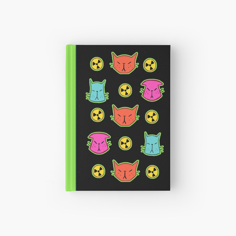 NUCLEAR CATS Hardcover Journal