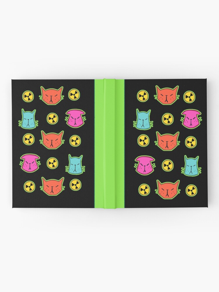 Alternate view of NUCLEAR CATS Hardcover Journal