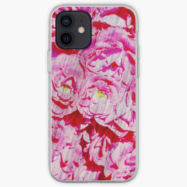 Roses in watercolor. iPhone Soft Case