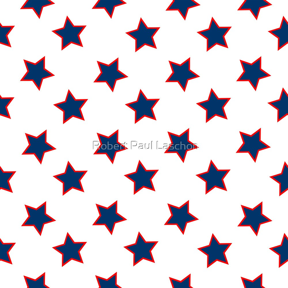 Quot American Flag Stars Background Quot By Laschon Robert Paul