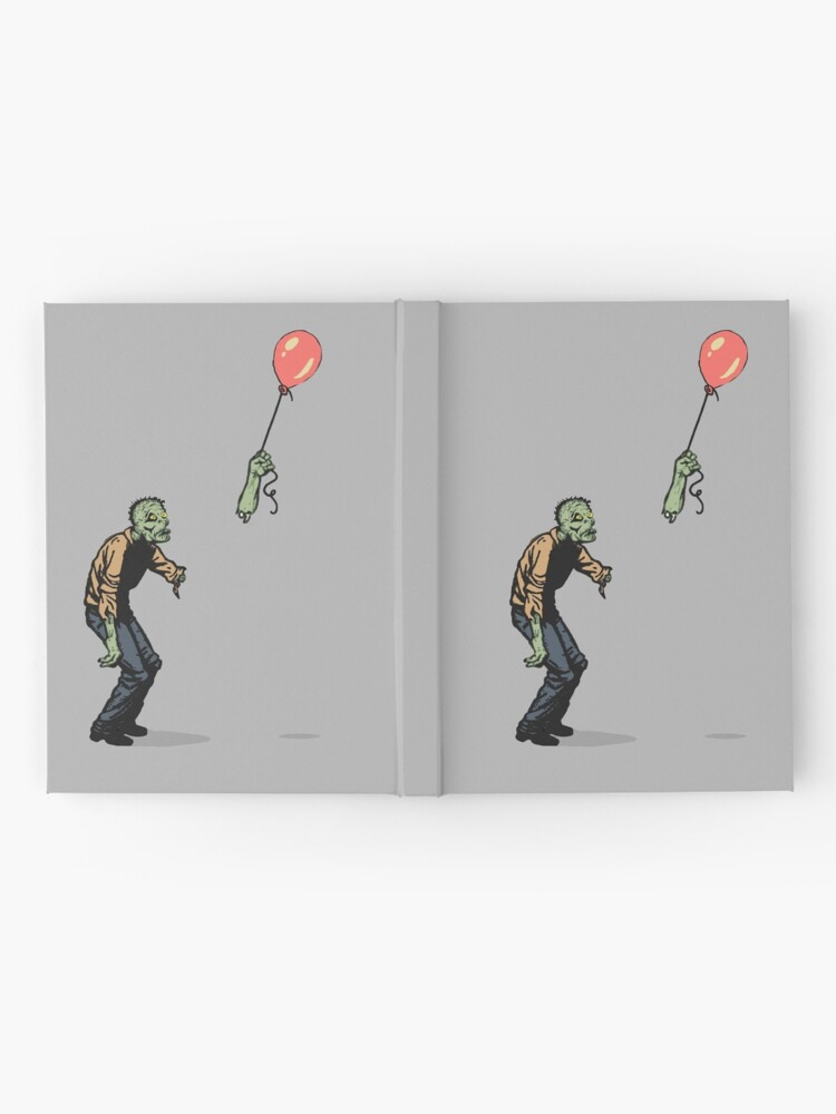 Alternate view of zombie Hardcover Journal