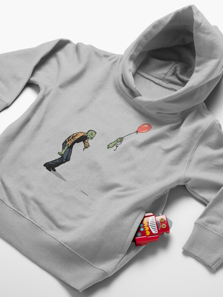 Alternate view of zombie Toddler Pullover Hoodie