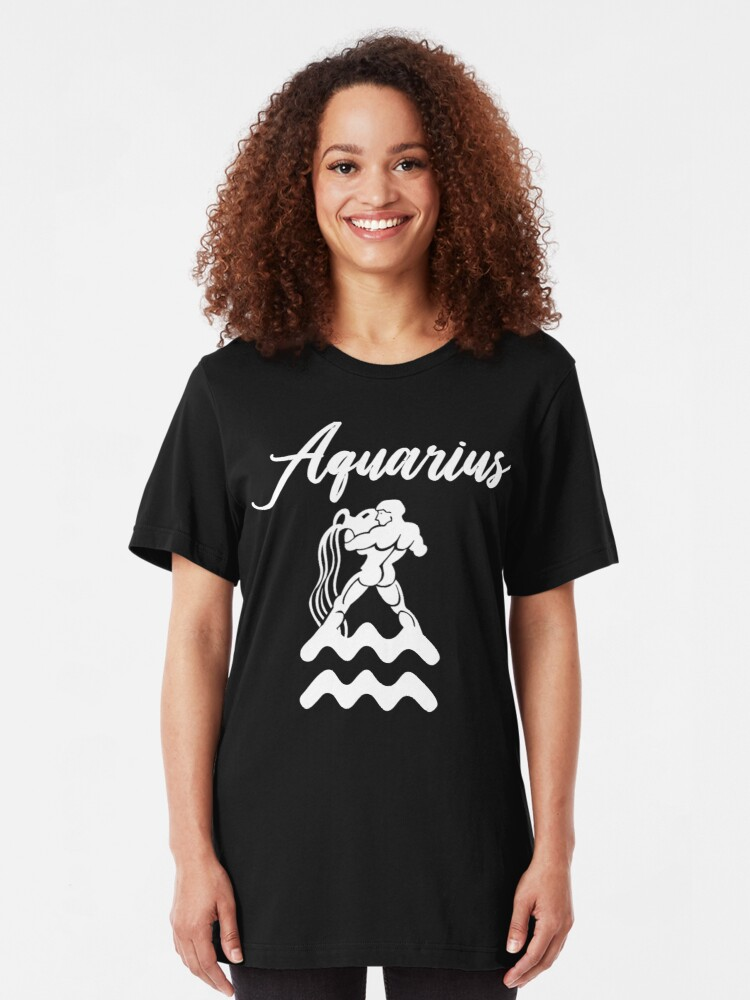 Alternate view of Aquarius T-Shirt Slim Fit T-Shirt