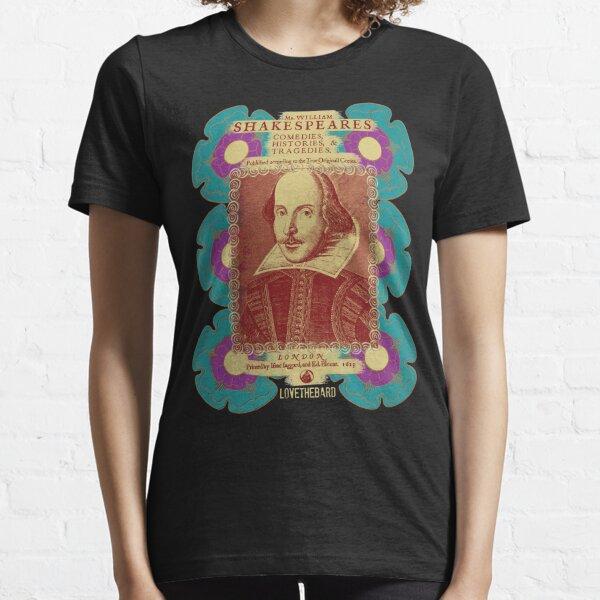 Shakespeare Tudor Flower Power Essential T-Shirt