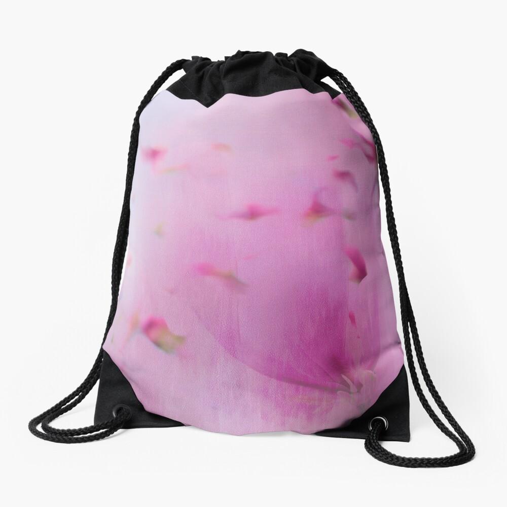 Watercolor Magnolia Drawstring Bag