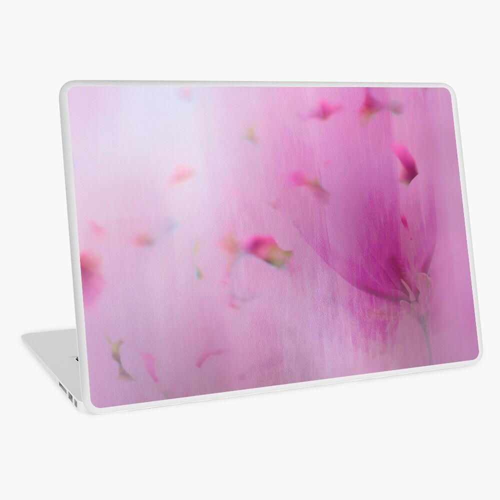 Watercolor Magnolia Laptop Skin