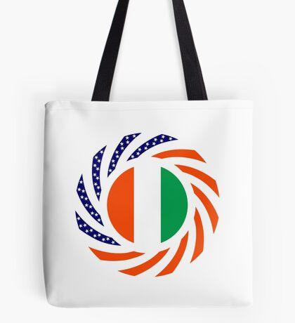 Ivory Coast American Multinational Patriot Flag Series Tote Bag