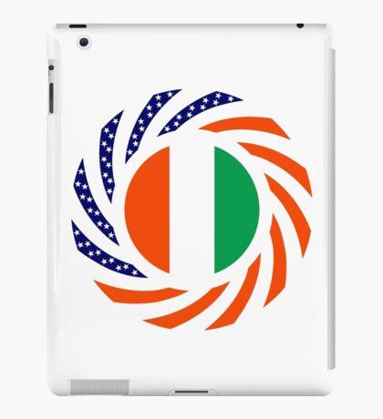 Ivory Coast American Multinational Patriot Flag Series iPad Case/Skin
