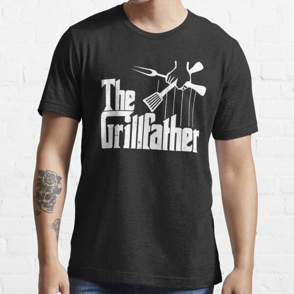 The Grillfather Funny BBQ Party Shirt  Essential T-Shirt