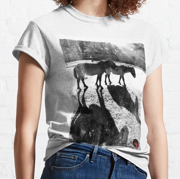 two horses Classic T-Shirt