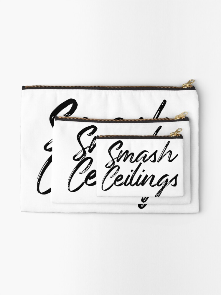 Alternate view of Smash Ceilings Zipper Pouch